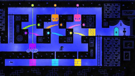 Hue the Game, available on Steam, Xbox One, PS4 and