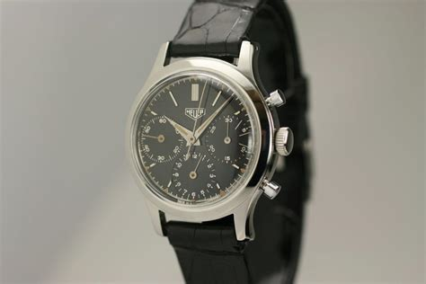 1950 Heuer Chronograph Watch For Sale - Mens Vintage