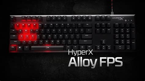 HyperX Alloy FPS Mechanical Gaming Keyboard with Cherry MX