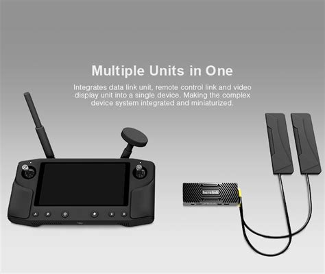 Herelink Ground Station Tablet with Long Range HD Video