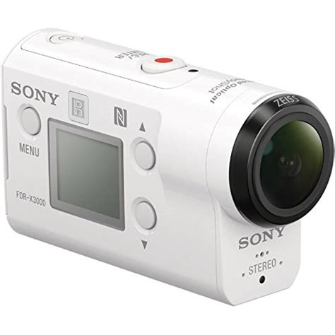 Sony Action Cam FDR-X3000 Wi-Fi GPS 4K HD Video Camera