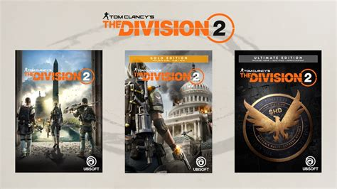 The Division 2: Pre-order offers, editions & collectors