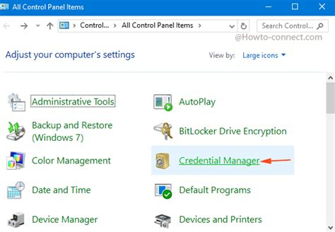 Find User Id and Passwords for Websites On Windows 10 PC