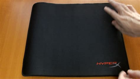 Mouse pad HyperX FURY S Pro Unboxing - YouTube