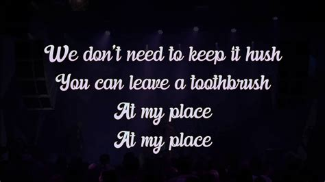 TOOTHBRUSH - DNCE COVER BY MAX WRYE (LYRIC ON SCREEN