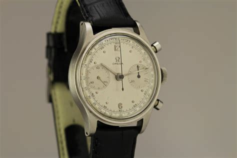 1940 Omega Chronograph Watch For Sale - Mens Vintage