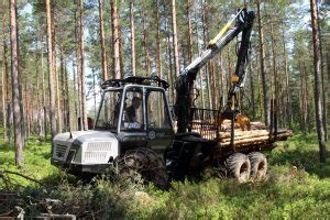 Malwa 560 – a small and efficient logger   Forestry