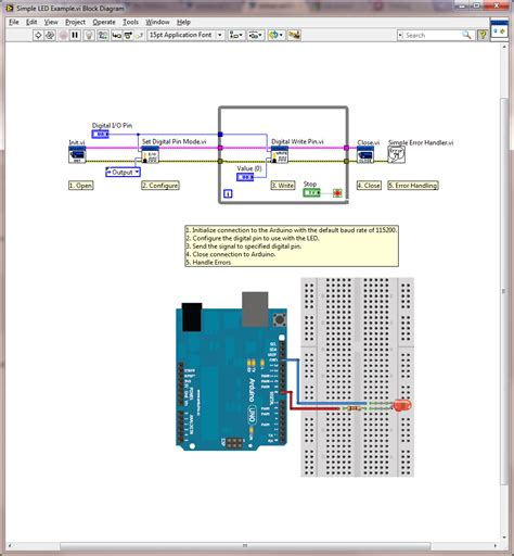 Arduino Example: Simple LED - Discussion Forums - National