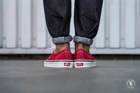 Vans Authentic 44 DX Anaheim Factory Racing Red - VN0A38ENMR9