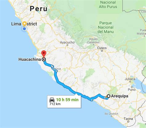 Arequipa to Huacachina by Bus: Updated for 2020 - Only