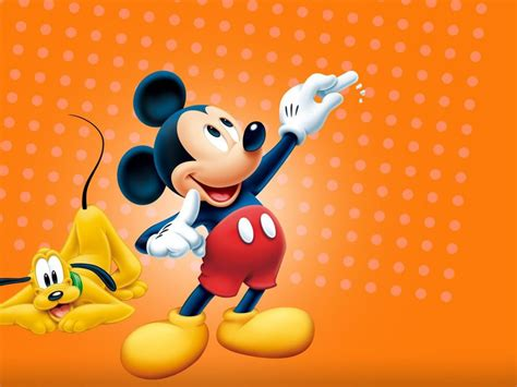 Mickey Mouse And Pluto Hd Wallpaper Widescreen 1920x1200