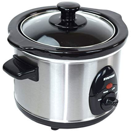 Syntrox Germany 2,5 Liter Edelstahl Slow Cooker