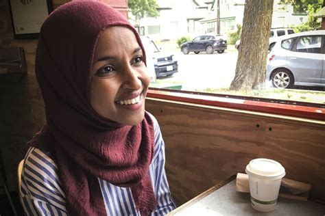 Ilhan Omar first Somali American & Muslim woman elected to