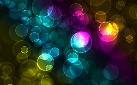Colorful Bokeh Wallpapers | HD Wallpapers | ID #8878