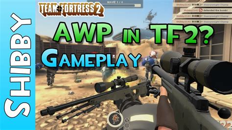 TF2 - AWP in Team Fortress 2? The AWPer Hand (CSGO Promo