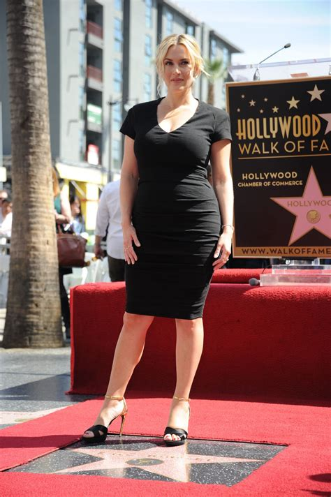 Kate Winslet - Honored With a Star on the Hollywood Walk