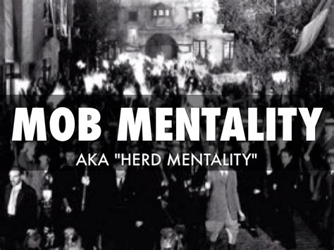 Mob Mentality by Kenny Johnson