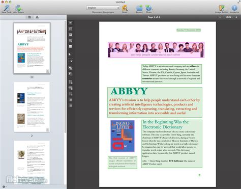 ABBYY FineReader Pro for Mac - Download Free (2019 Latest