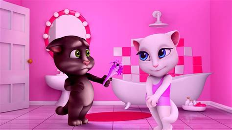My Talking Angela Great Makeover My Talking Tom Episode