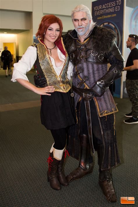 Cosplay, Booth Babe and Booth Dude Photos From E3 2016