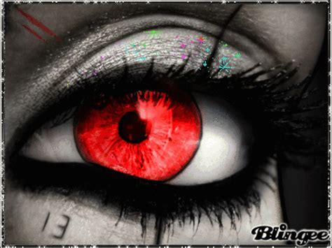 rote augen meiner seele Picture #130775590 | Blingee